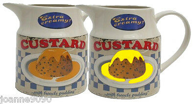 Martin Wiscombe Custard Jug One Pint Home Kitchen Gift Stoneware Fancy Dress