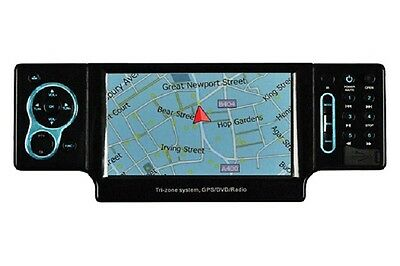 Performance Teknique In Dash One Din CD/DVD Player GPS Touchscreen Panel +Remote