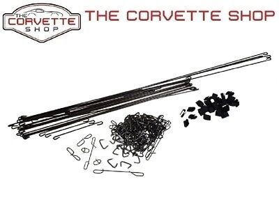 C3 Corvette Seat Cover Install Kit - 1 Kit Does Both Seats 1970-1978 x2087