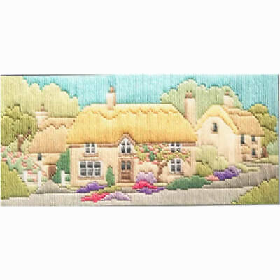 Derwentwater Designs Rose Lane Long Stitch Kit