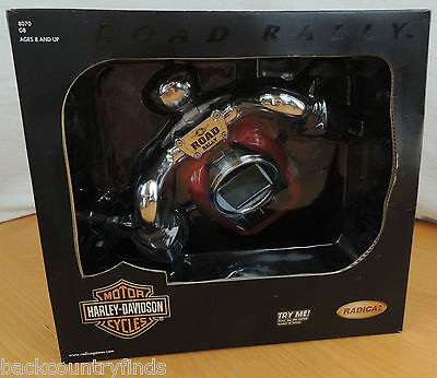 Harley Davidson Road Rally Polished Chrome Course Battery Race Radica Video Game