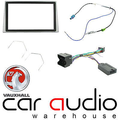 Vauxhall Astra 2004-10 Car Stereo D/Din Fascia Steering Wheel Interface CTKVX09