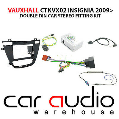 Vauxhall Insignia 2008 Car Stereo D/Din Fascia Steering Wheel Interface CTKVX02