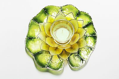 Capiz Floating Water Lily - Votive Candel - Manila Dafodil Yellow