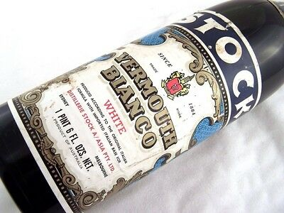 1974 circa STOCK Italian Type Vermouth Bianco Isle of Wine