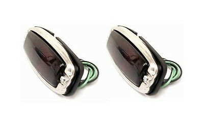 41-48 Chevy Street Rod Glass Tail Light Assembly PAIR