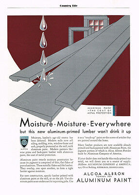 1931 AD Alcoa Albron powder for aluminum paint-coat of metal protection