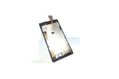 Black ~ LCD Display touch screen+ frame for  Sony Xperia L S36H C2105 c2104