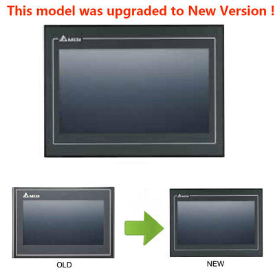 "DELTA 7"" Inch DOP-B07S411 HMI Touch Screen Operator Panel & Program Cable CNC"