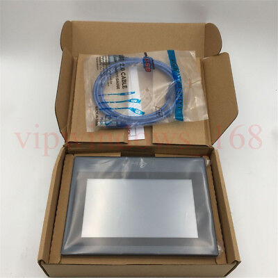"""KINCO 7"""" HMI Touch Screen LCD Operator Panel eView ET070 HMIware v2.2&Cable"""