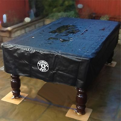 Jonny 8 Ball 8ft OUTDOOR UV & Water Resistant Heavy Duty 8ft Pool Table Cover