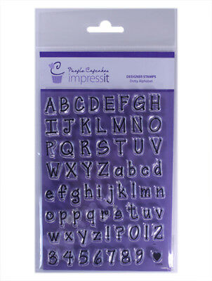 Cupcake Stamps Lettering Alphabet Numbers Impressit Decorating FREE SHIPPING