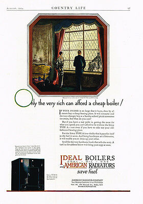 1924 AD Ideal Boilers and American Radiators-looking through the window
