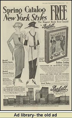 1919 AD Bedell Department Store-Spring Fashion