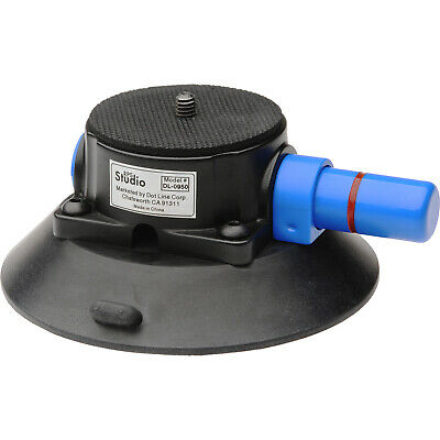 """RPS Studio 4"""" Heavy Duty Hand Pump Suction Cup with 1/4"""" x 20 Tripod Screw"""