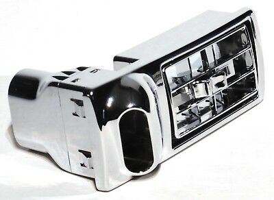 A/C heater vent passengers side chrome plastic for Kenworth 2002-05