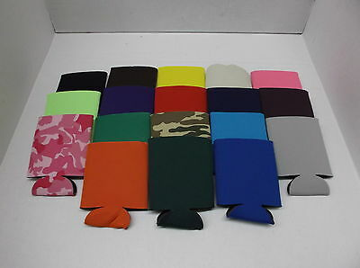 500 Piece Wholesale Resale Lot Blank Can Koozie Screenprint & Embroidery