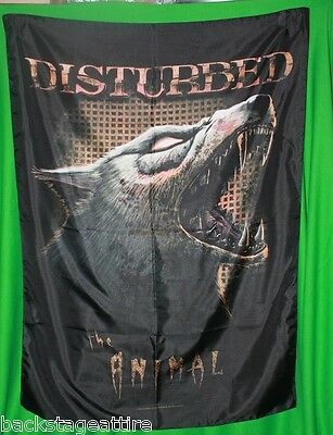 Disturbed The Animal We Both Shall Dine In Hell Tonight 29X43 Cloth Poster Flag!