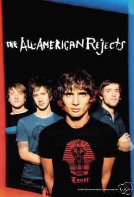 ALL AMERICAN REJECTS Illuminated Cloth Poster Flag Fabric Textile Tapestry-New!
