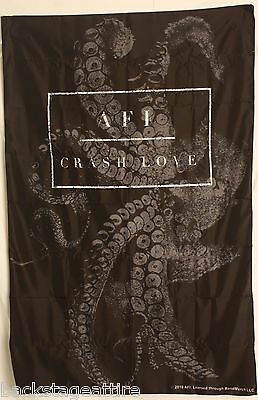 "AFI A Fire Inside Crash Love Tentacles 29""x43"" Cloth Fabric Poster Flag Tapestry"