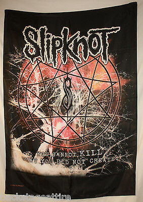 "SLIPKNOT Cannot Kill 29""X43"" (75X110cm) Cloth Fabric Poster Flag Paul Gray-New"