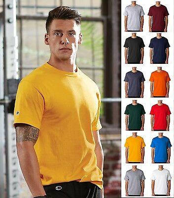 Champion Men's Short Sleeve Tee T-Shirt 425 T425 SIZES S-3XL 12 COLORS-BRAND NEW