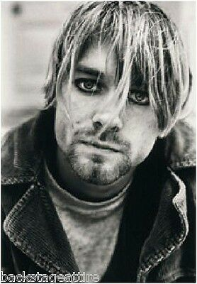 """KURT COBAIN Suicide/Nevermind 29""""X43"""" Cloth Fabric Poster Flag-New-Wall Banner"""