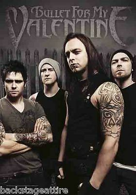 BULLET FOR MY VALENTINE BFMV Band Photo 29X43 Cloth Fabric Poster Flag New!!!!!