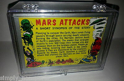Mars Attacks Topps Heritage 55-Card Silver Parallel Set
