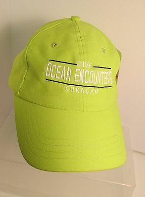 Curacao Ocean Encounters  Scuba Diving Caribbean USA Embroidered Hat Ball Cap