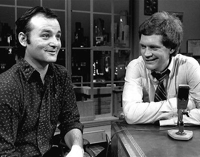 David Letterman Bill Murray 8X10 Glossy Photo Picture