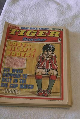 Tiger And Scorcher March 19th 1977