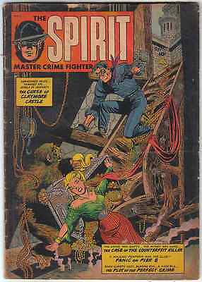 Spirit 1 1952 Real Adventures Publishing Co Lower Grade Flat Look Bargain