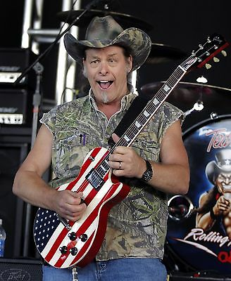 Ted Nugent 8X10 Glossy Photo Picture Image #2