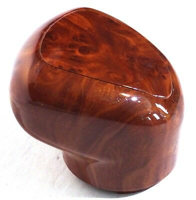 gearshift knob 9/10 speed wood grain plastic for Freightliner Kenworth Peterbilt