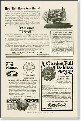 1922 Farquar Furnance Co. heating system  AD