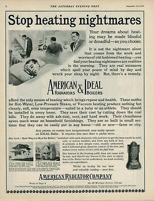 1909 AD American Ideal heaters and boilers-coal bill