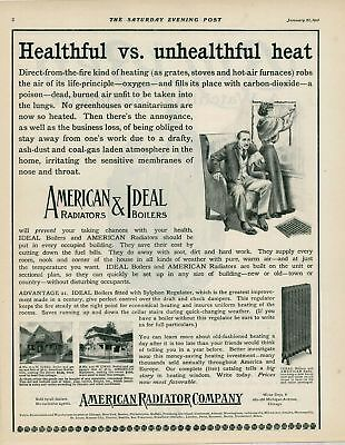 1909 AD American & Ideal radiators and boilers-heating