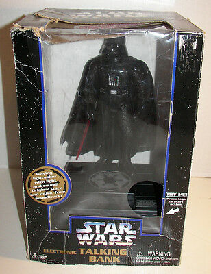 Star Wars Electronic Talking Bank featuring Darth Vader (Boxed)