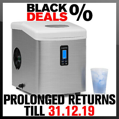 Ice Cube Machine By Klarstein Party Bar Quick Ice-Cube Maker 150W 15Kg Per Day