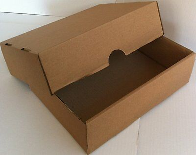 Small Cardboard Storage Boxes & Lids New Strong A4 Post Mailing Archive Filing