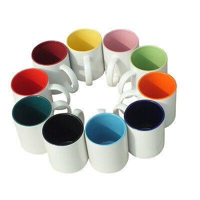 Personalised Coloured Mug Gift Your Image Photo Text Design Printed