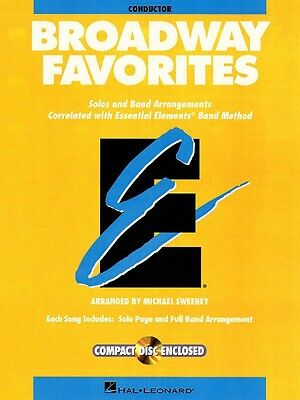 Essential Elements Broadway Favorites Conductor Band Folios Book and C 000860034
