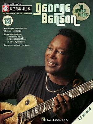 George Benson Jazz Play Along Book and CD NEW 000843240