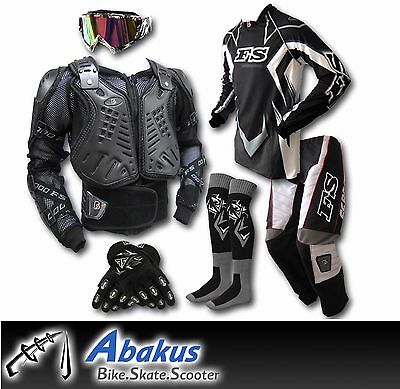 ADULT MX JERSEY+PANTS+GLOVES+BODY ARMOUR+SOCKS-Dirt Bike Gear/Off-road/Motocross