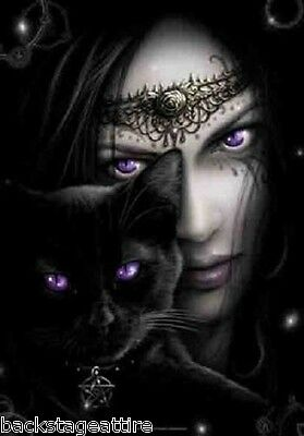SPIRAL Purple Cat Eyes Amethyst Cloth Poster Flag Fabric Textile Tapestry-New!