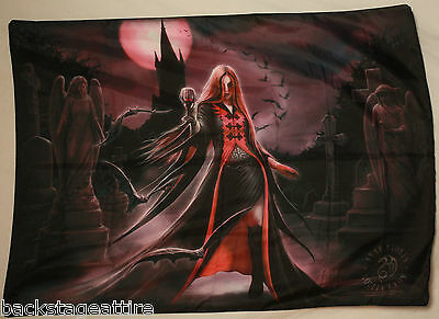 ANNE STOKES Blood Moon Textile Fabric Cloth Poster Flag Wall Banner New!!!