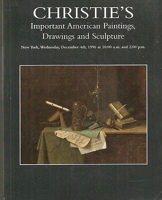 Christie's 8546 American Paintings Drawings Sculpture Auction Catalog 1996