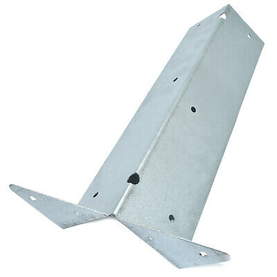 ARRIS GALVANISED RAIL BRACKETS - 300mm - FENCE - FENCING  - POST - SUPPORT