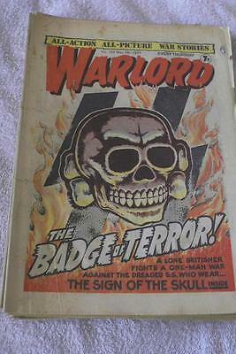 WarLord No. 137 May 7th 1977